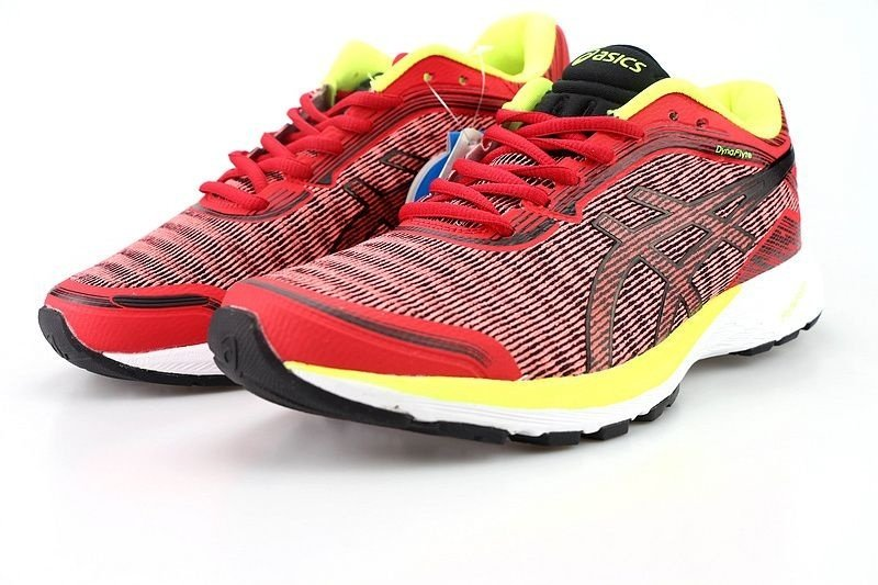 Tênis Asics DynaFlyte - Masculino - Vermelho - Shoes Hub - Seu ... e8b1678dc8fae