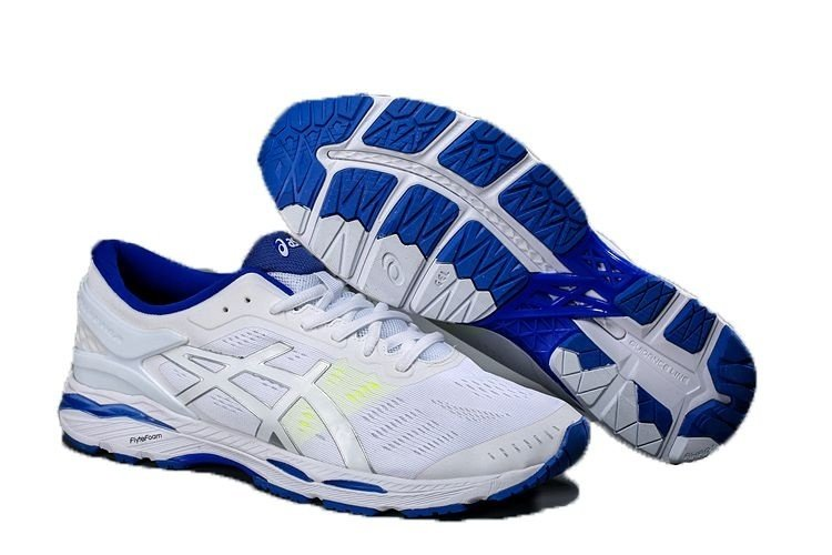 Tênis Asics Gel Kayano 24- Masculino - Branco - Shoes Hub - Seu ... 141dfd2618221