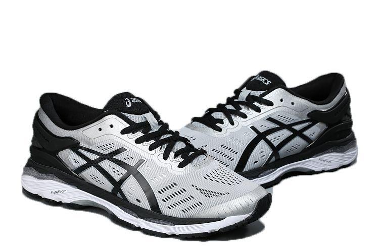Tênis Asics Gel Kayano 24- Masculino - Prata e Preto - Shoes Hub ... b23f131b12803