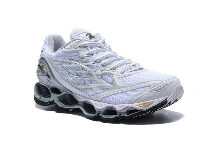 463370f6e9 ... Tênis Mizuno Wave Prophecy 6 - Feminino - Branco - Shoes Hub - Seu .