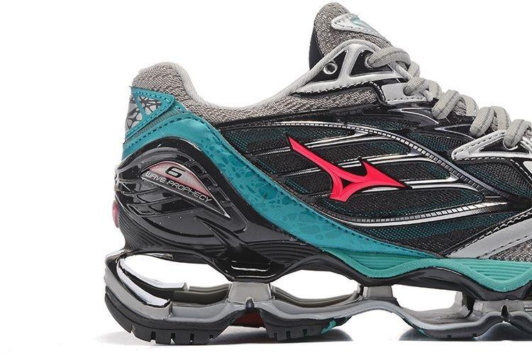 222bc6c5eb Tênis Mizuno Wave Prophecy 6 - Feminino - Cinza - Shoes Hub - Seu .