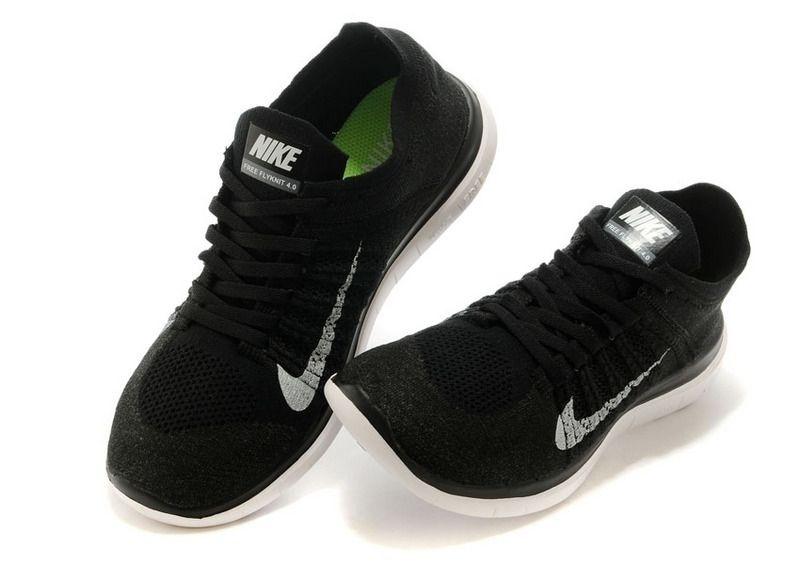 088008bc56 Tênis Nike Free 4.0 Flyknit - Feminino - Preto e Cinza - Shoes Hub ...