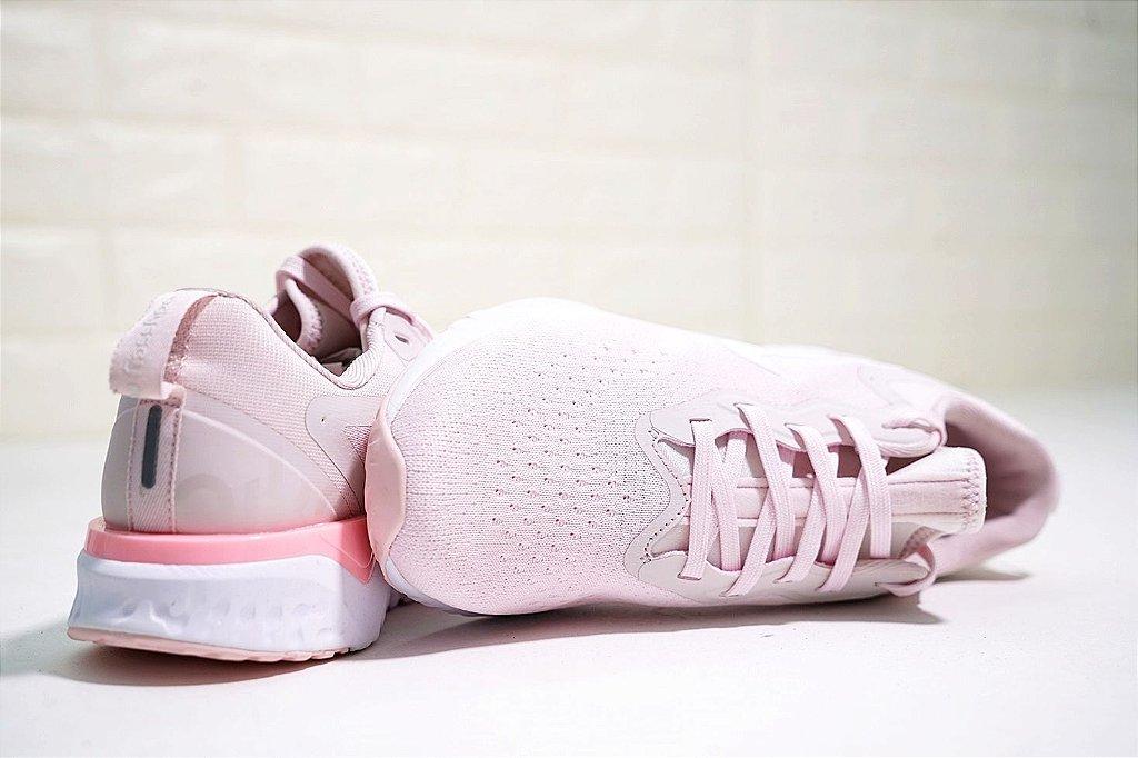... Tênis Nike Epic React Flyknit - Feminino - Rosa Claro - Imagem 5 ... 6a375128e3