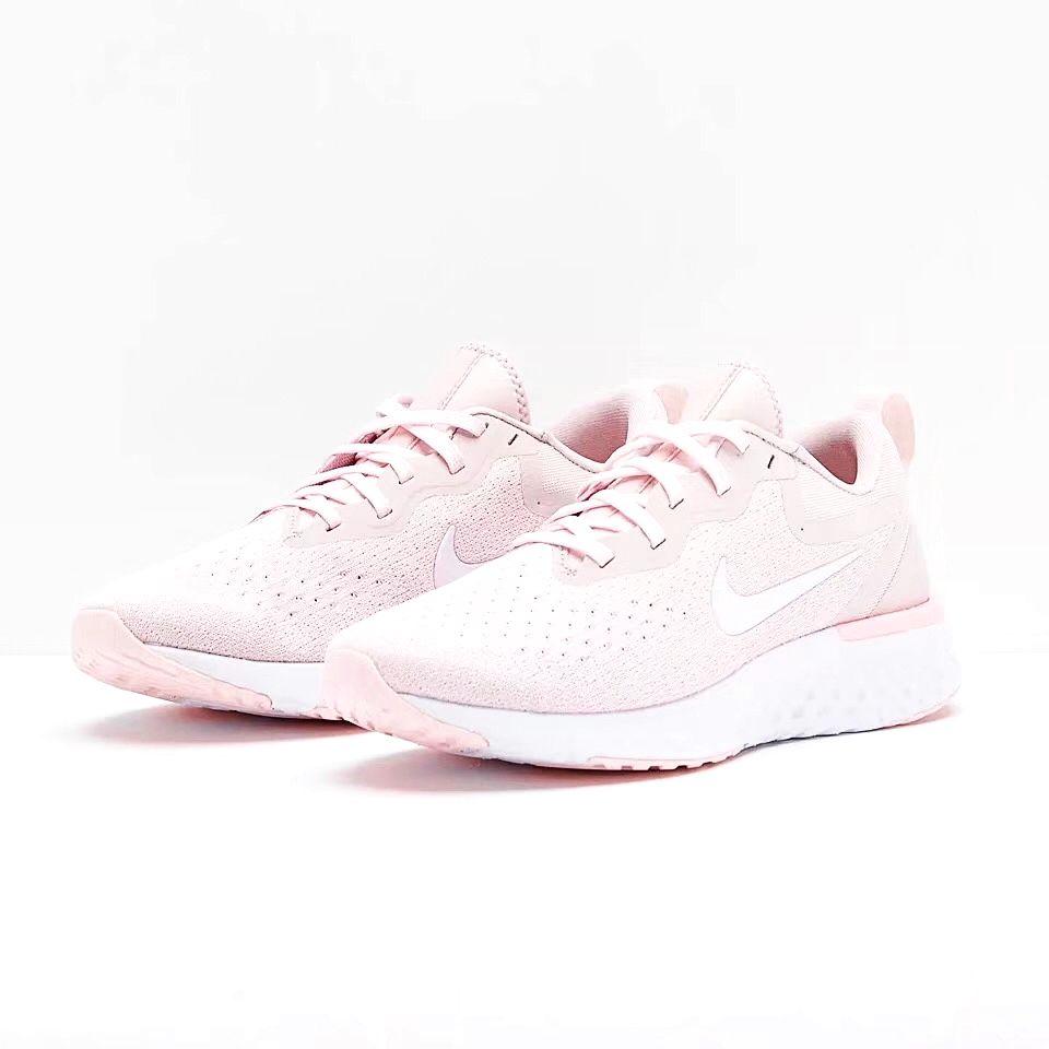 ... Tênis Nike Epic React Flyknit - Feminino - Rosa Claro - Imagem 4 ... 92d37c4093