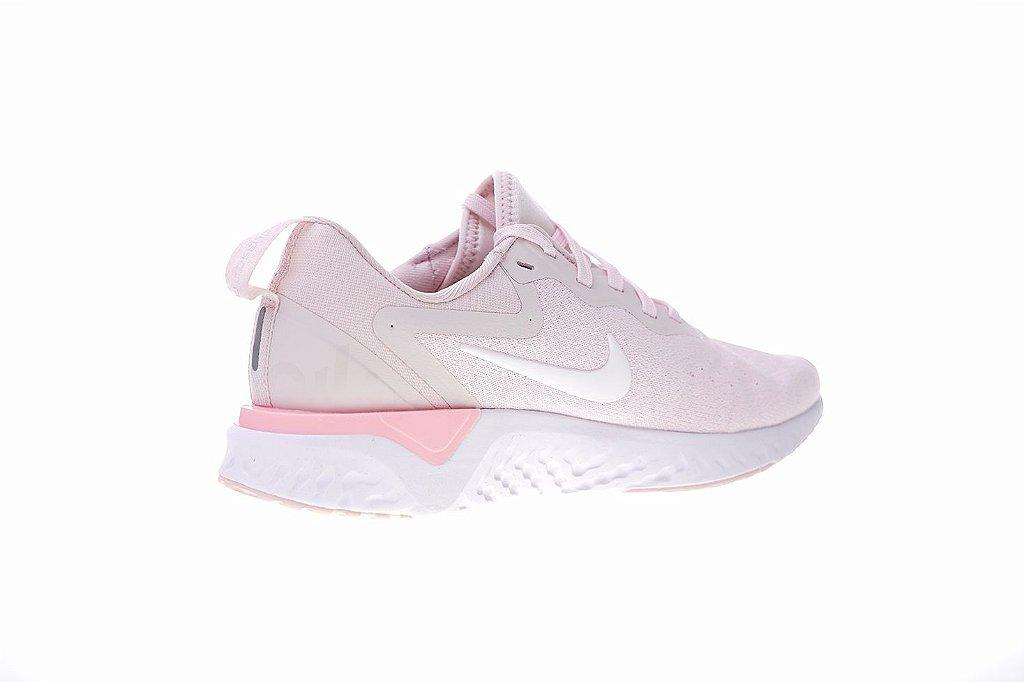 ... Tênis Nike Epic React Flyknit - Feminino - Rosa Claro - Imagem 2 ... 337dc4f2a0