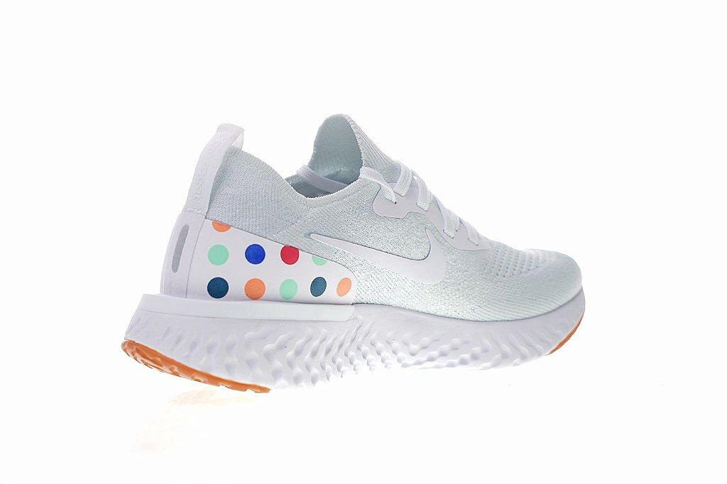 ... Tênis Nike Epic React Flyknit - Feminino - White Balls - Imagem 2 ... 5c44d9c381