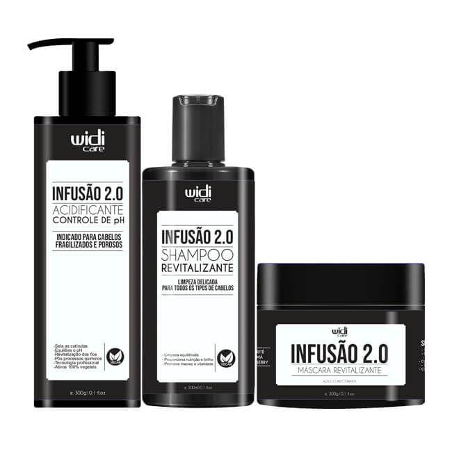 Infusão 2.0 Acidificante 300g - Widi Care O QUE É? O acidificante Inf - Dermabox - No Poo e Low Poo Shop