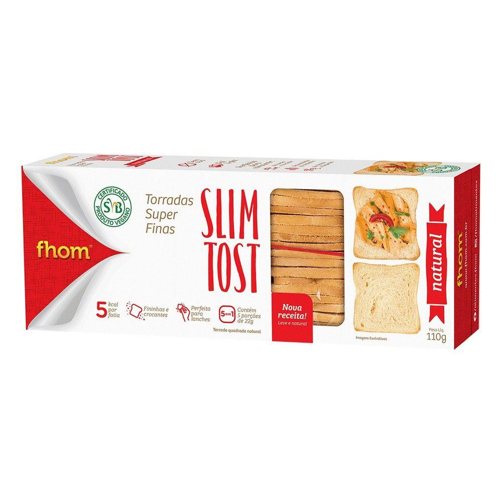 Torrada Slim Tost Natural 110g