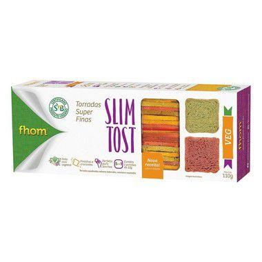 12 Torrada Slim Tost VEG 110g  - 5% DESCONTO