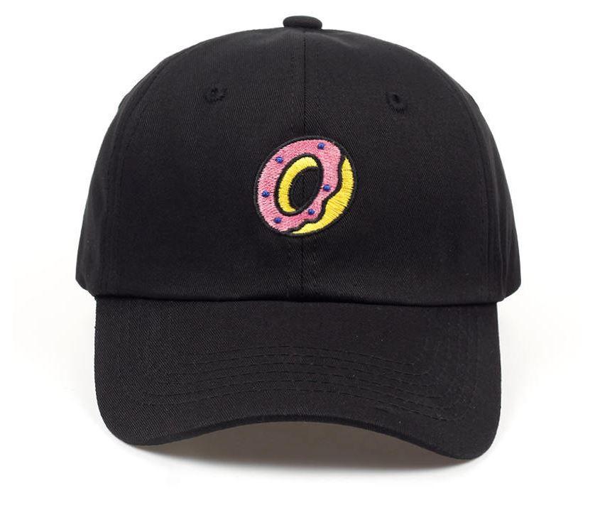 Boné Aba Curva Donuts Preto