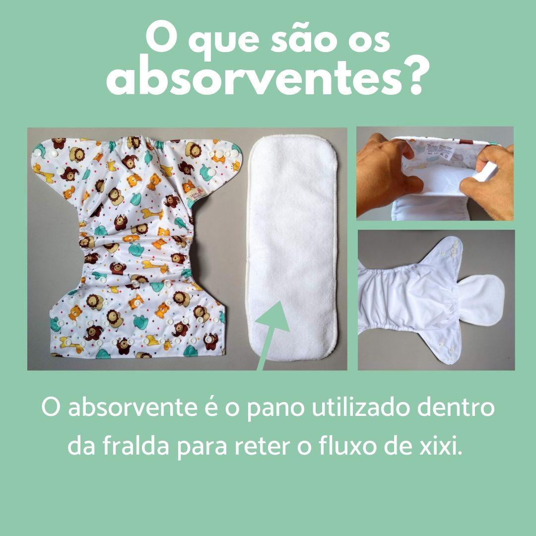 fraldas ecológicas - sobre os absorventes 1