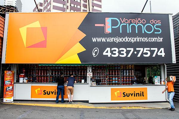 Loja de Tintas Suvinil em Sao Bernardo do Campo Supermercado SONDA Varejao dos Primos
