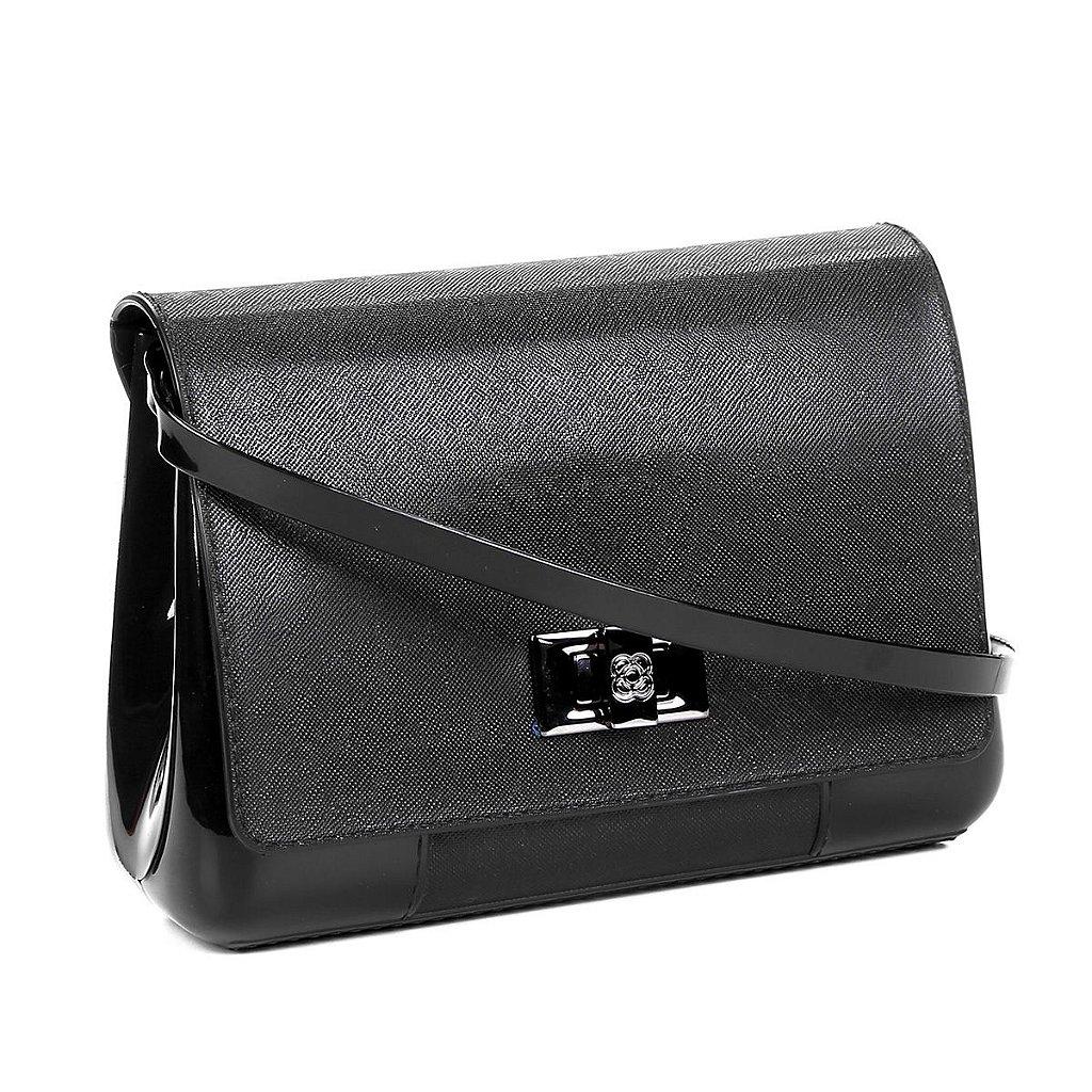 6c5079a41 ... Bolsa Petite Jolie Mini Bag Verniz One Feminina - Preto - Imagem 2 ...