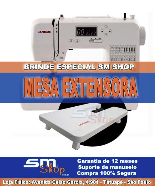 Janome 1050Dc com Brinde Sm Shop