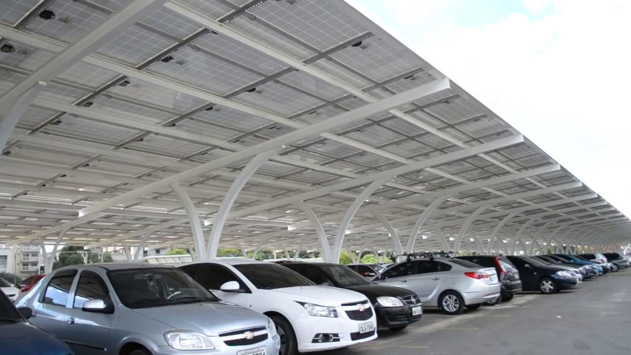 Garagem com energia solar em Goiás