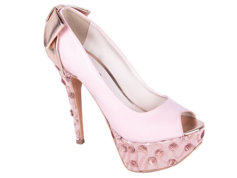 1633a1c585 Sapato Meia Pata Laço Metalizado - Stylus BuyShop