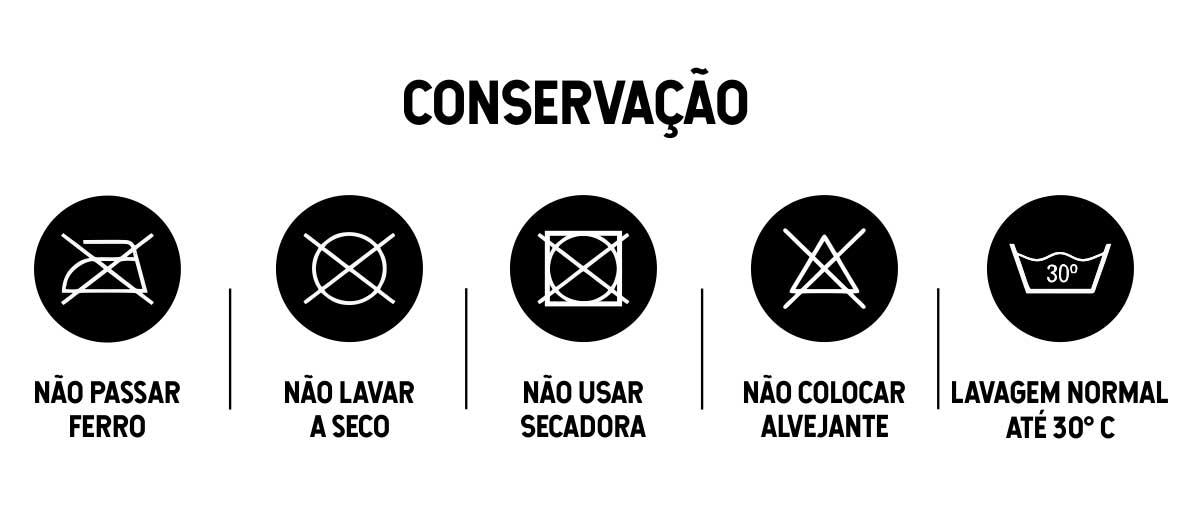 SHORT MASCULINO ÂNCORA - CONSERVAÇÃO
