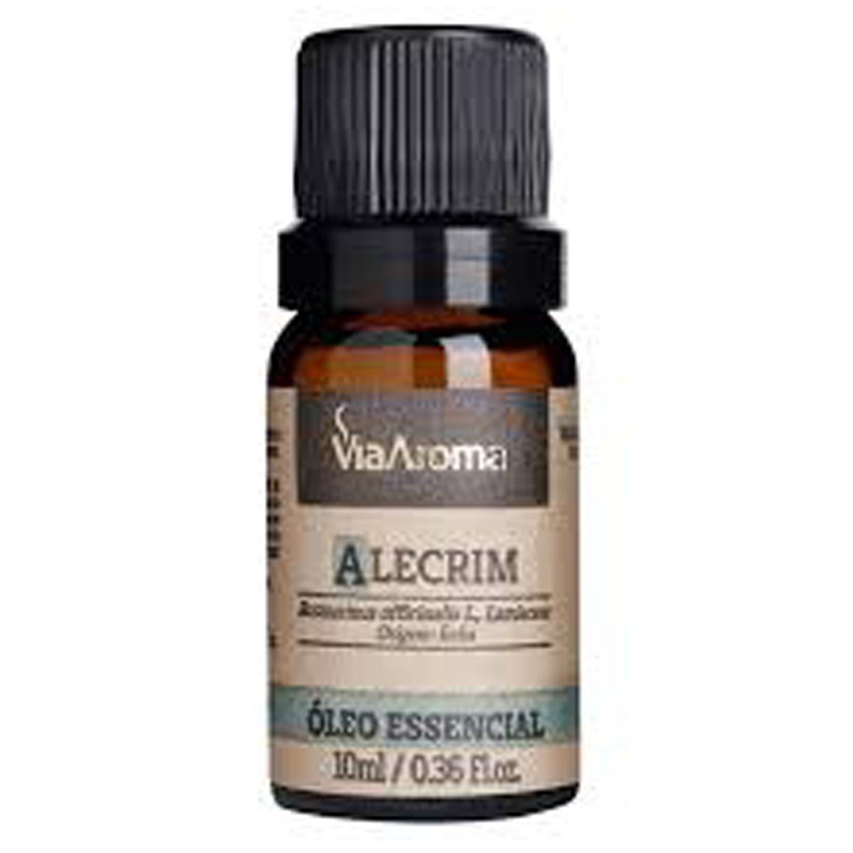 Como usar o Óleo Essencial de Alecrim QT Cânfora - Via Aroma