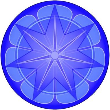 Adesivo Para Parede Mandala da Prosperidade 60cm