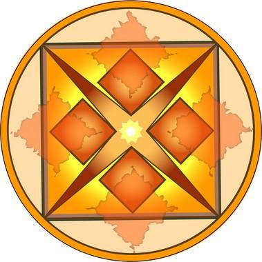 Adesivo Para Parede Mandala Dinheiro 60cm