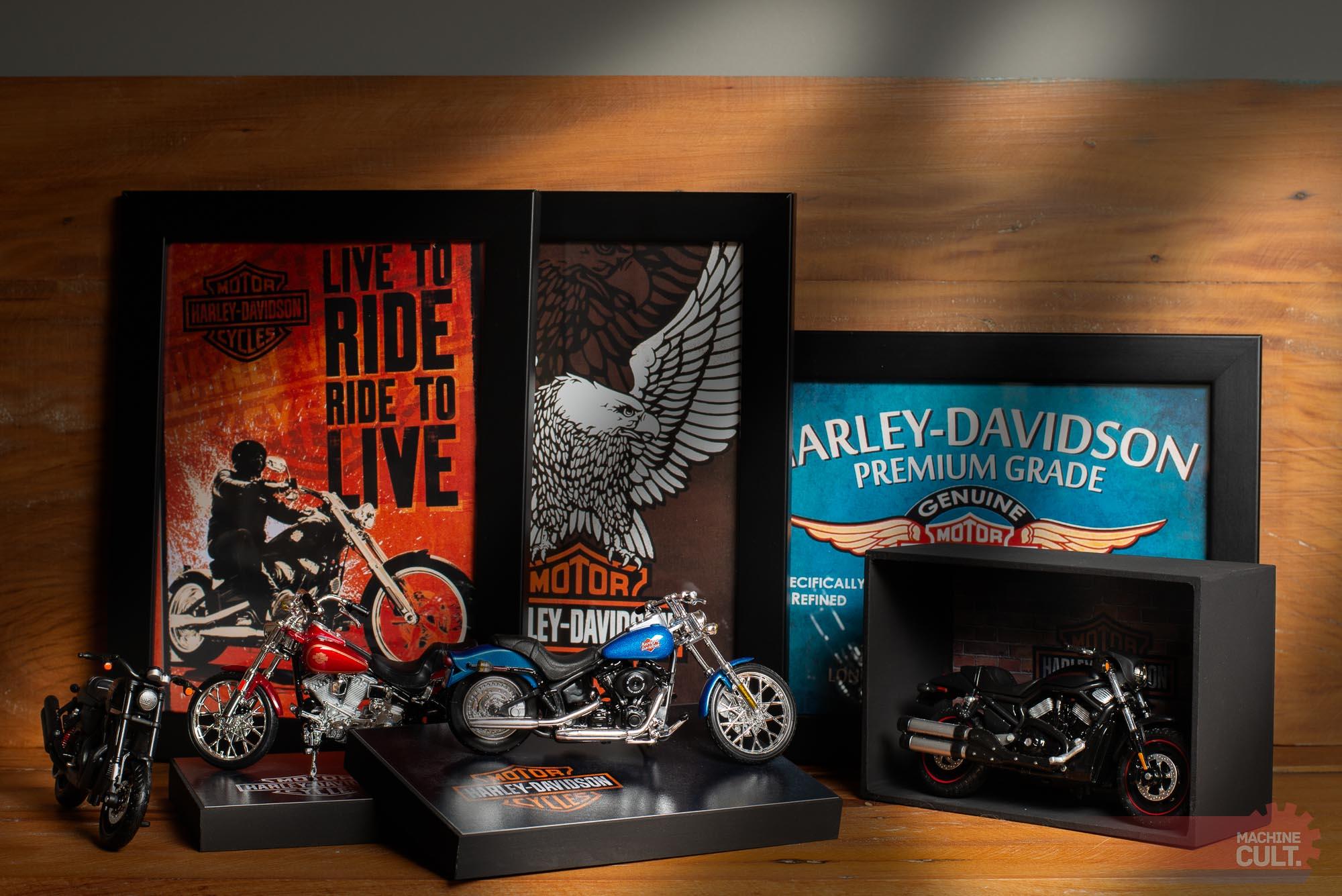 Presentes para quem gosta ou tem Moto Harley-Davidson