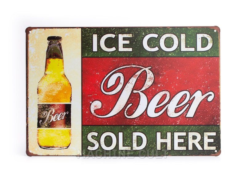Placa Cerveja Antiga