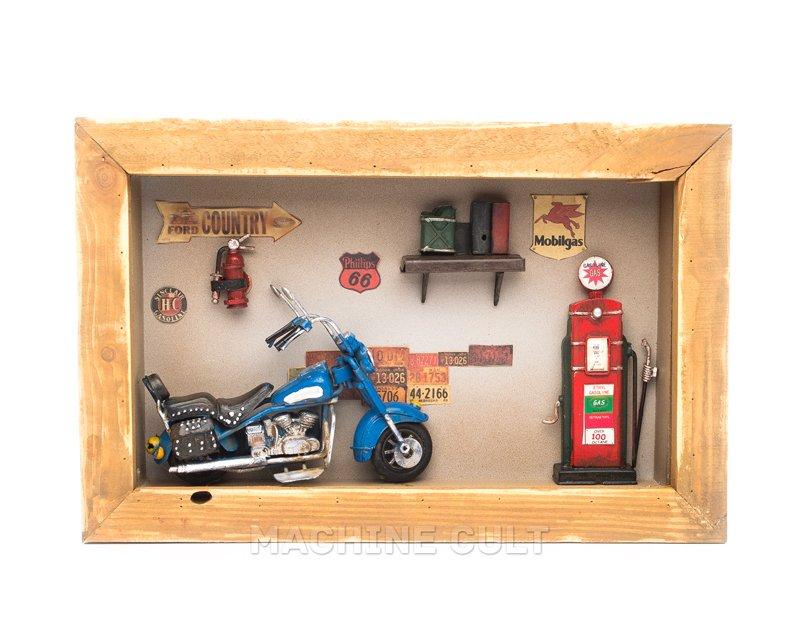 Diorama de Moto