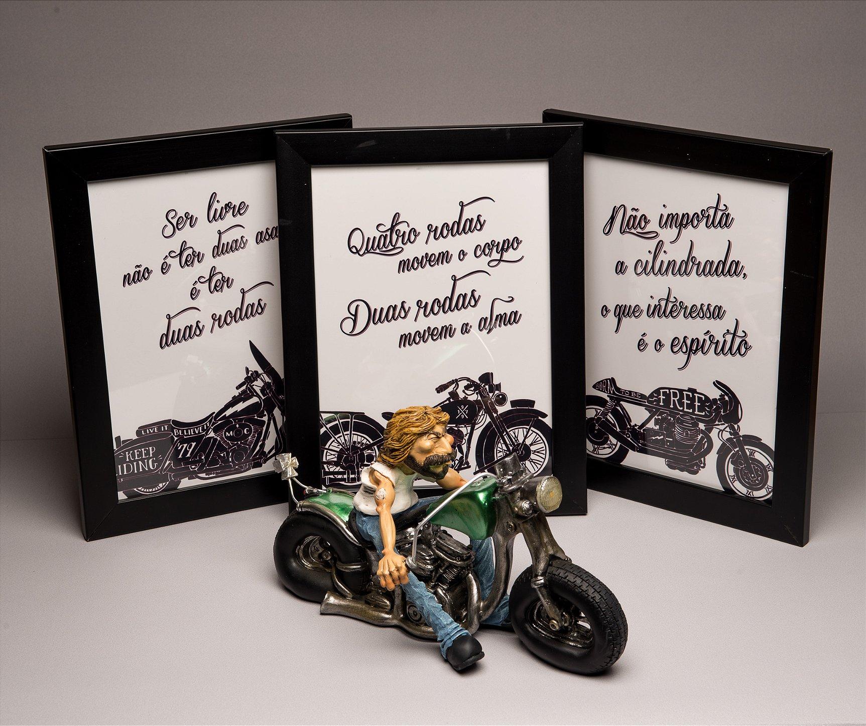 presente para motociclista