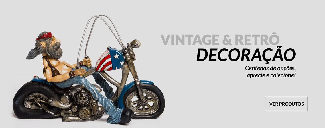 Vintage e Retrô na decoração