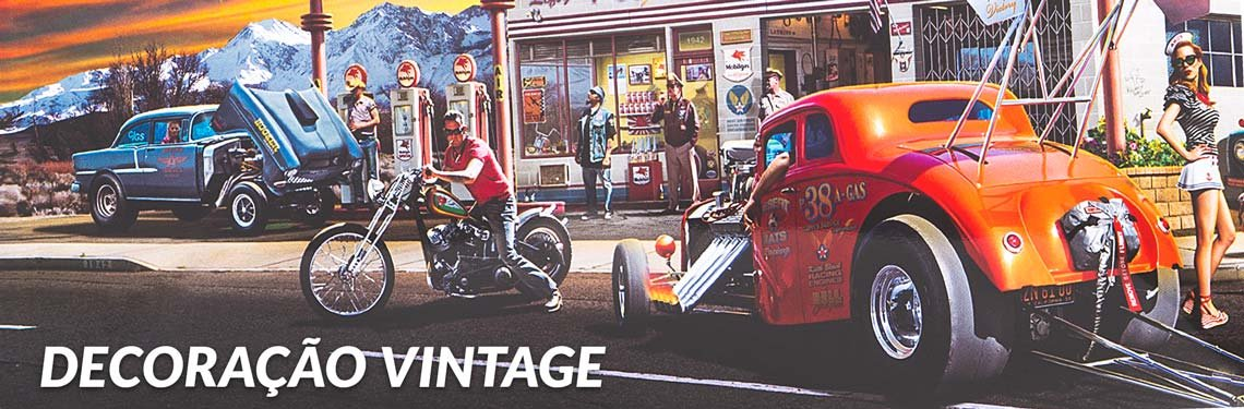 Decoração Vintage