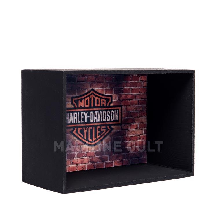 Expositor de Miniaturas Harley-Davidson escala 1:18 e 1:24