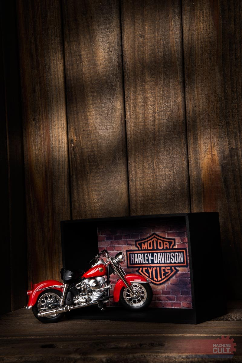 presente para motociclista Harley-Davidson