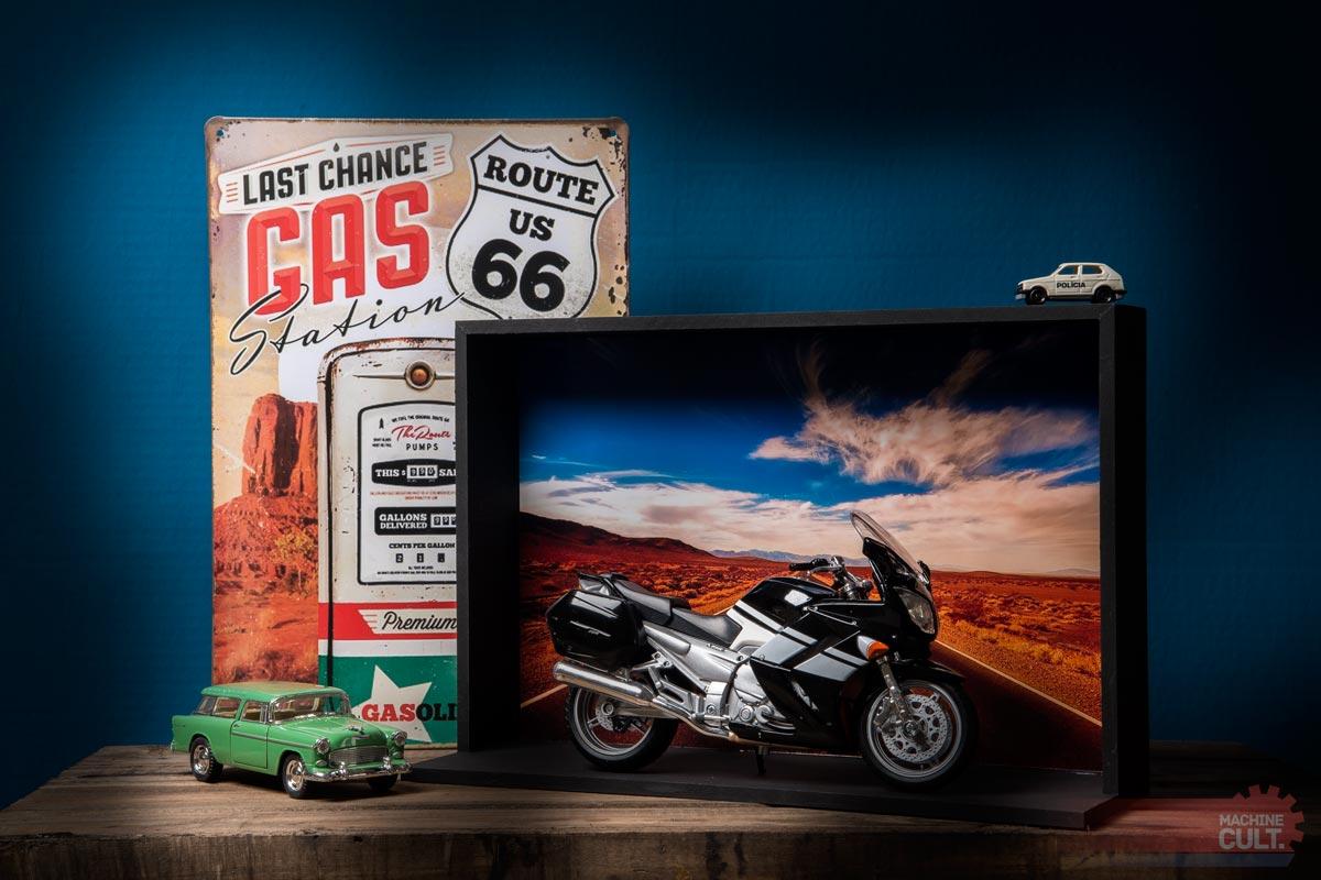 expositor para miniaturas de carro e moto - Machine Cult