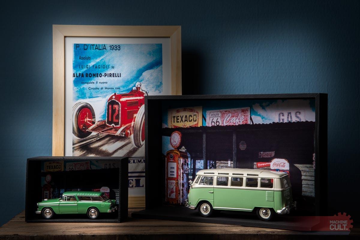 expositor para carros e motos em miniatura