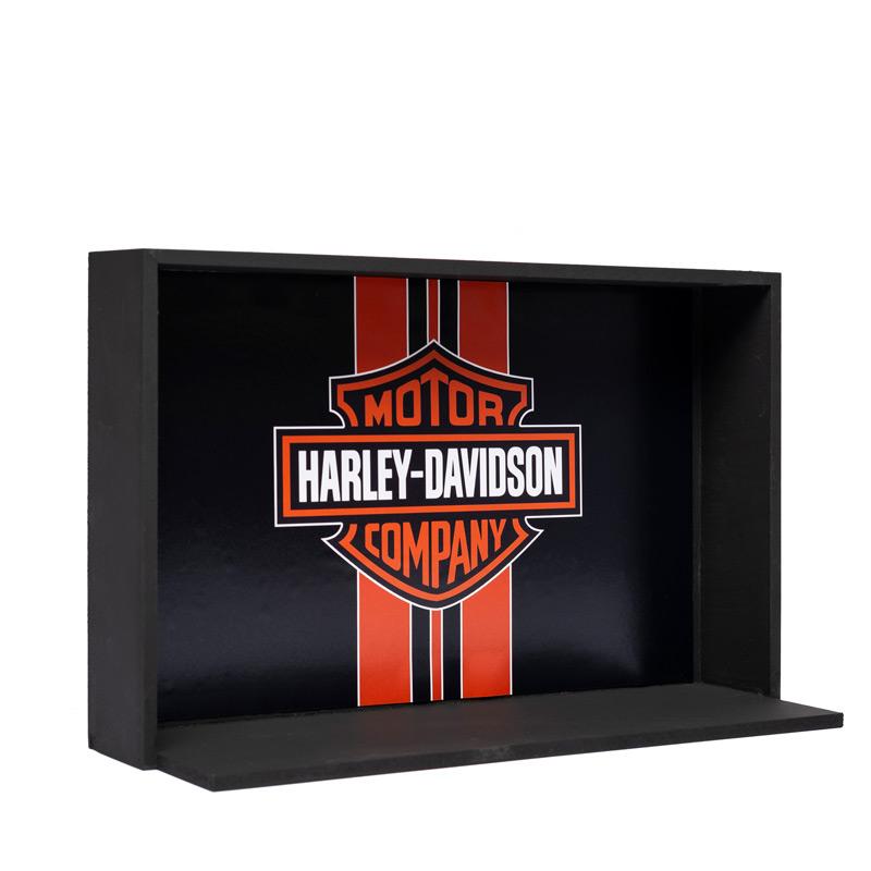 Expositor para Miniaturas Harley-Davidson escala 1:12 - MD12