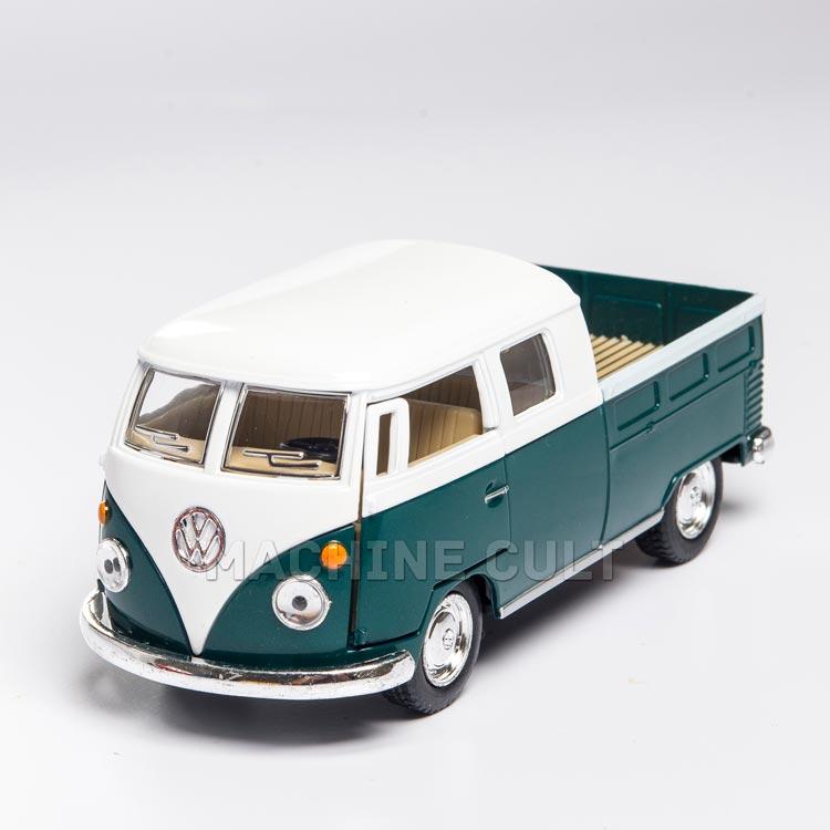 Miniatura 1963 Perua Kombi com caçamba - Verde 1:34