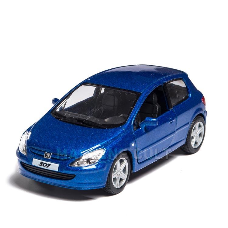 Miniatura 2001 Peugeot 307 AZUL XSI - 1:32
