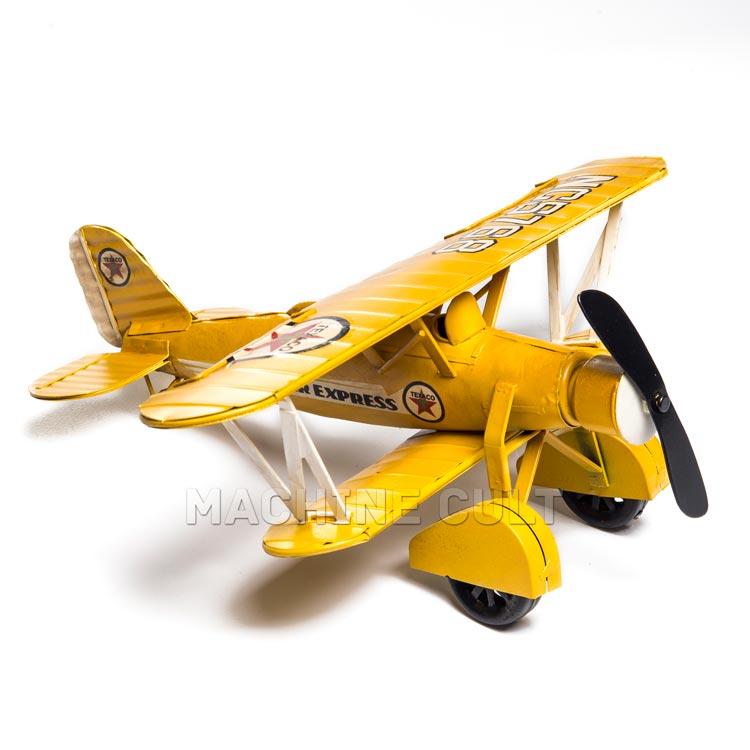 Miniatura Avião Amarelo
