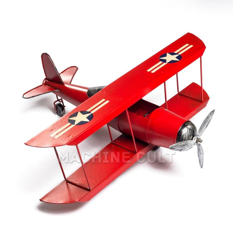 Miniatura Avião Vermelho