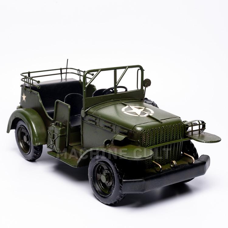 Miniatura Jeep Militar U.S Army