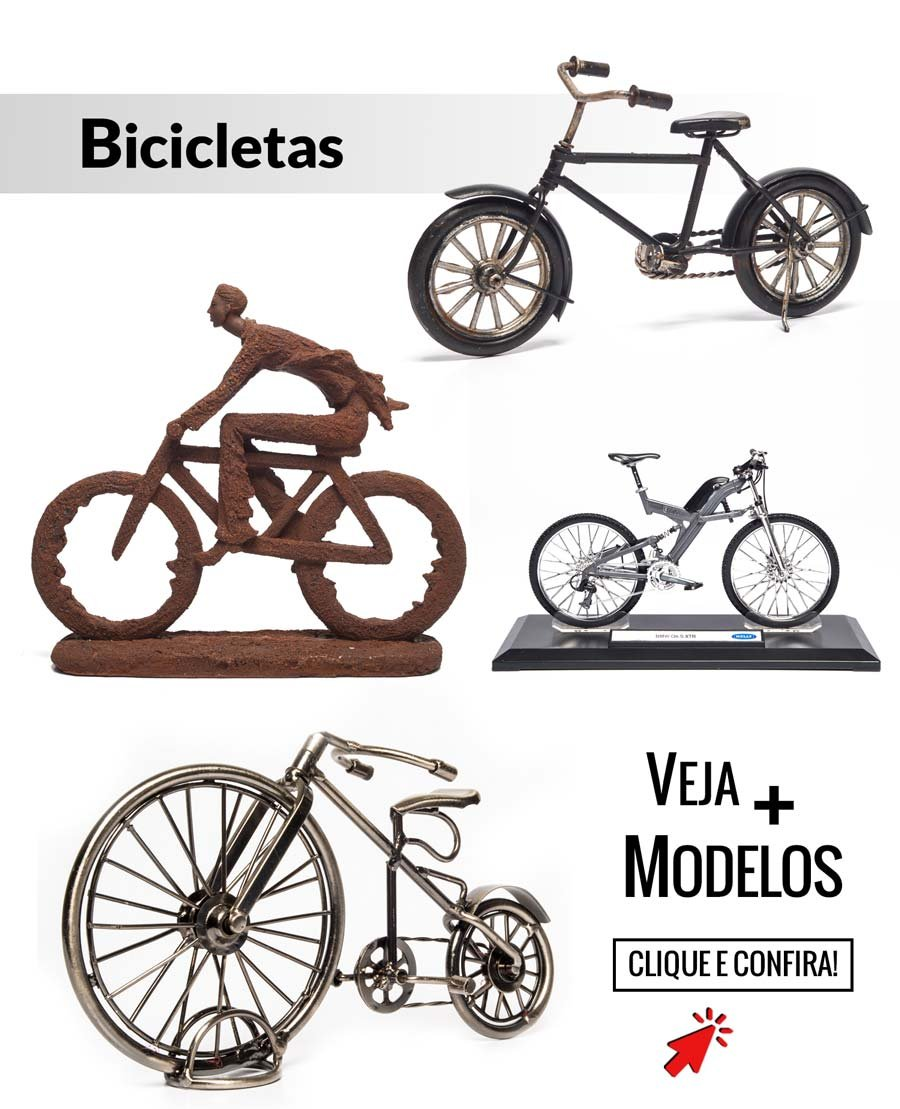 Miniaturas de Bicicleta  - Black Friday