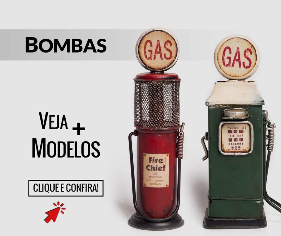Miniaturas Bomba de Gasolina