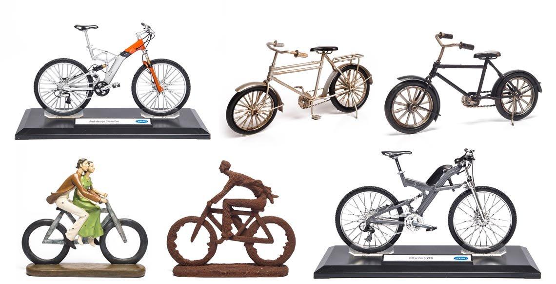 miniaturas de bicicleta - presente amigo secreto