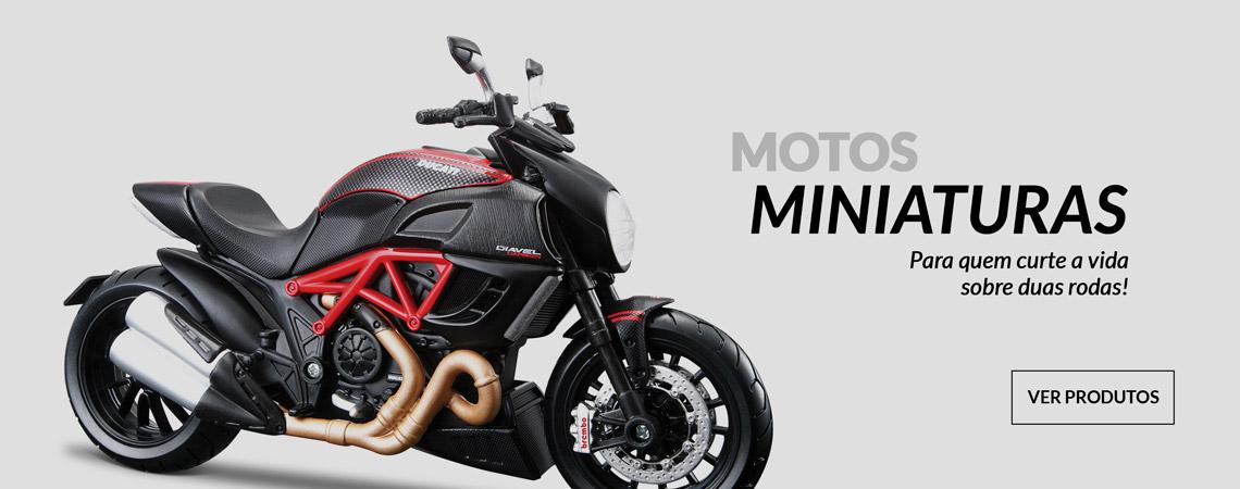 Miniatura Ducati Diavel em promoção