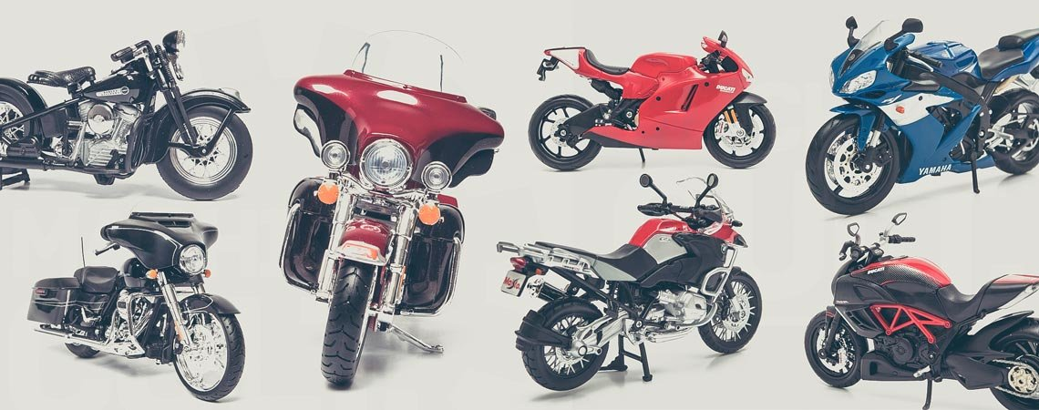 Miniaturas de Moto - Black Friday
