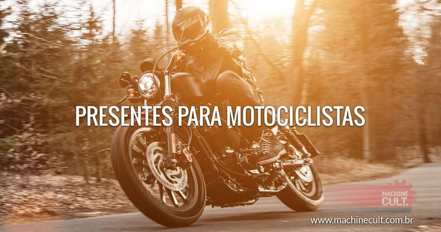 presentes para motociclistas Machine Cult