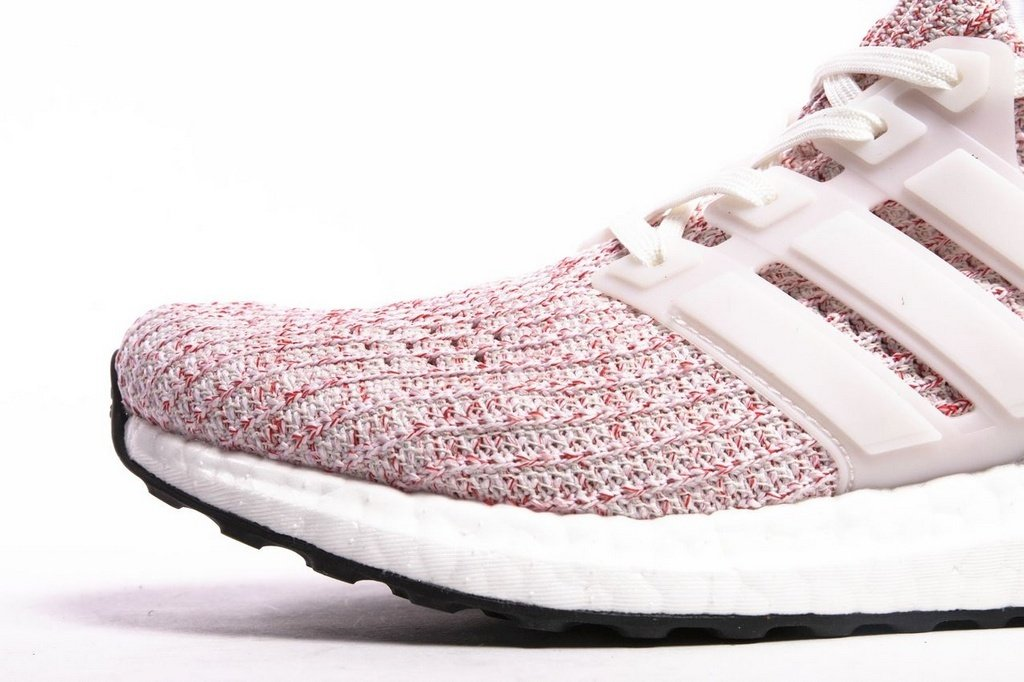 592125ff665 ... Tênis Adidas Ultraboost 4.0 Feminino - Rosa e Branco - Imagem 2 ...