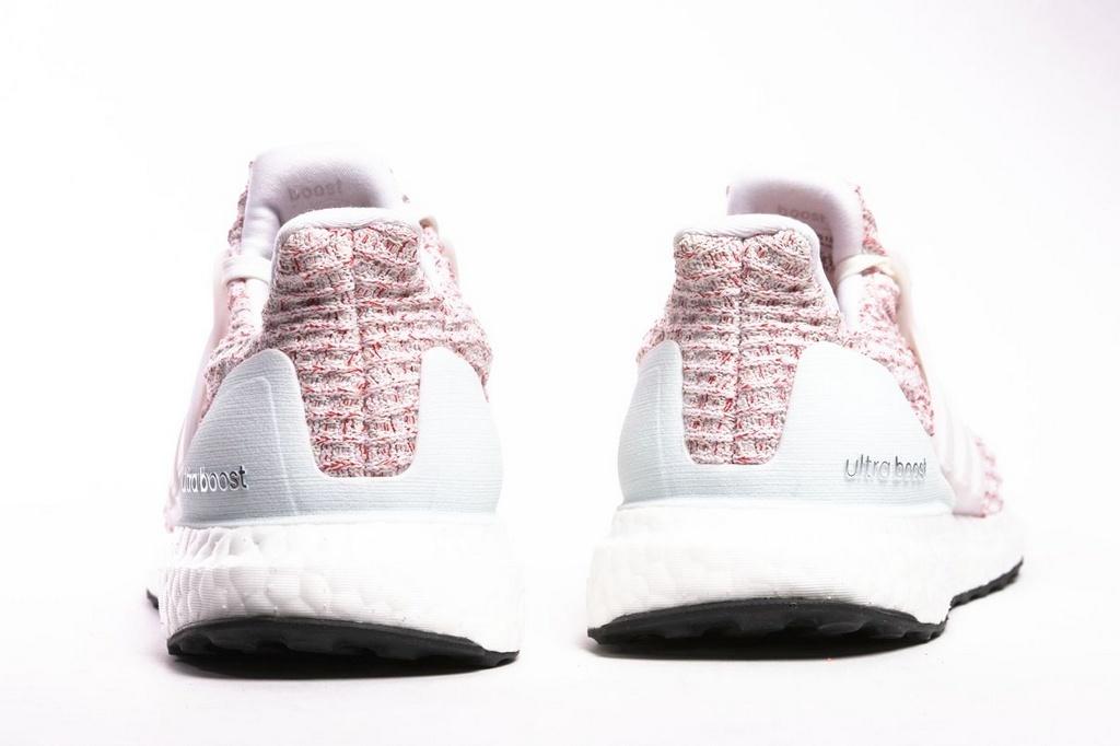 4338f42ed08 ... Tênis Adidas Ultraboost 4.0 Feminino - Rosa e Branco - Imagem 4 ...