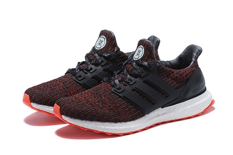 6d1c1189175 ... Tênis Adidas Ultraboost 4.0 - Feminino - Vermelho e Preto - Imagem 3 ...