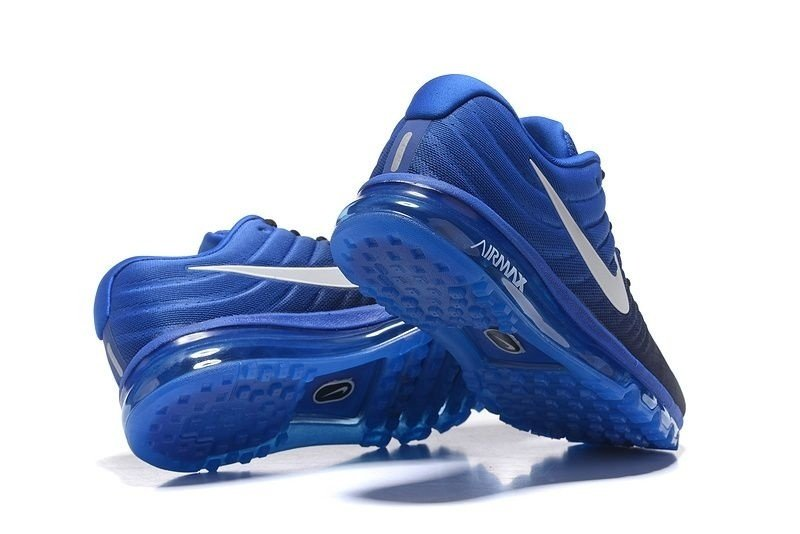 3fa2c1443e1 ... Tênis Nike Air Max Air Max 2017 - Masculino - Preto e Azul - Imagem 4  ...